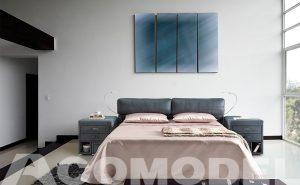 Sofá cama Magno, sistema italiano Acomodel