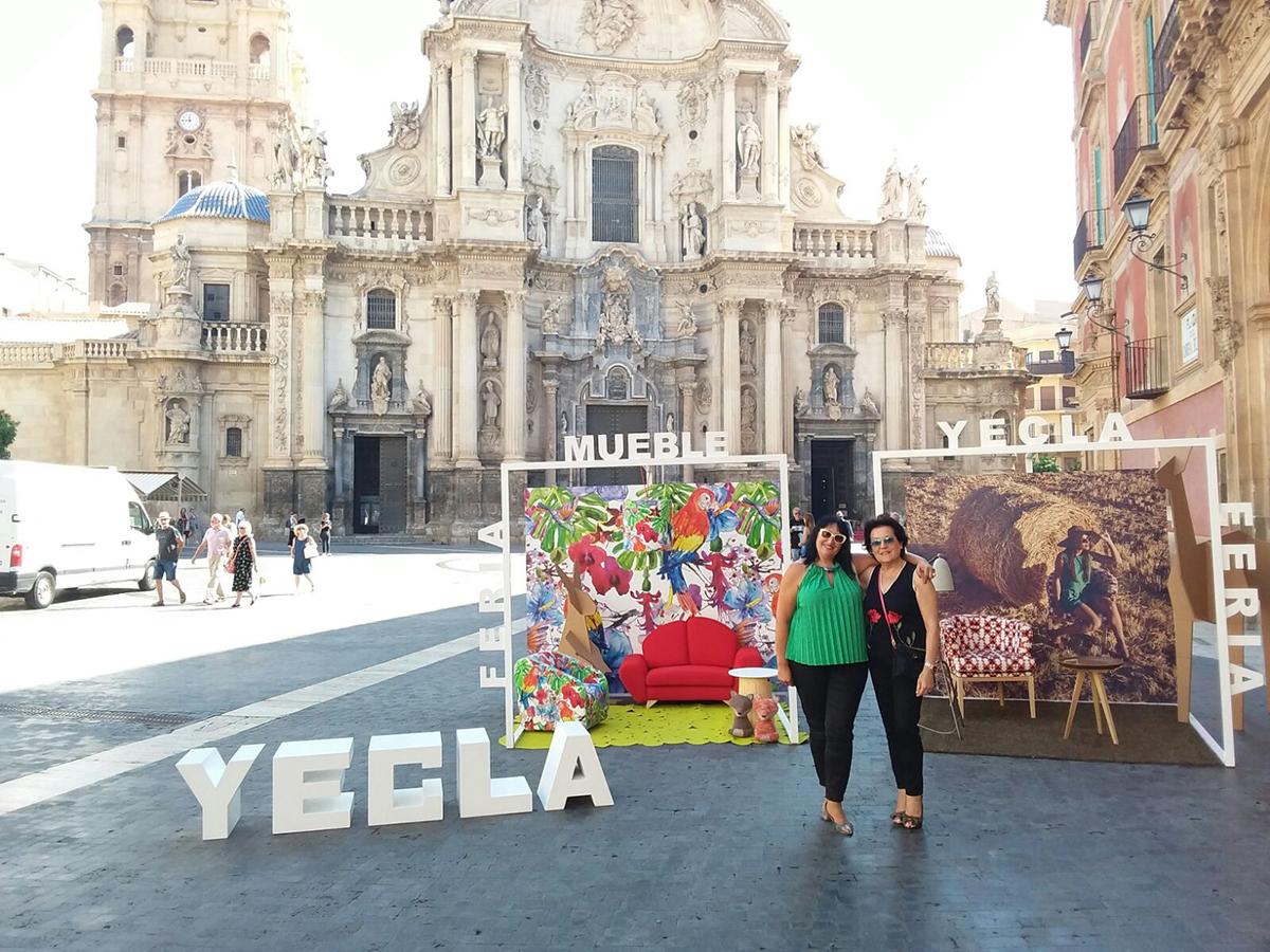 Acomodel presentando la feria del mueble en murcia for Feria del mueble de yecla