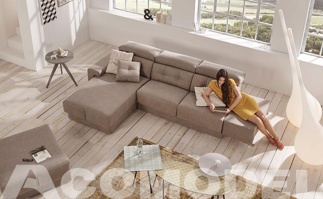 Habitat an Acomodel's sofa