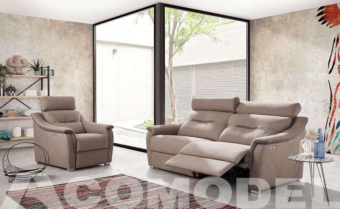 Sofá eléctrico y sillón London