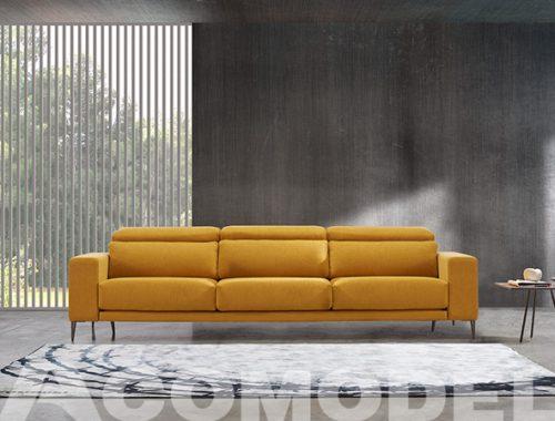 Sofá prisma diseño minimalista de Acomodel Tapizados un sofá deslizante manual