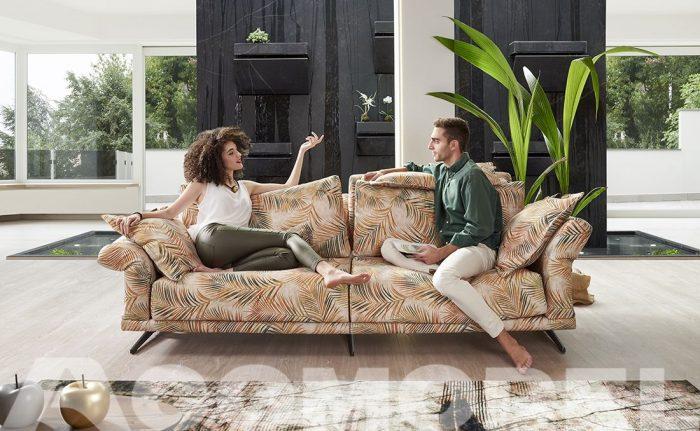 Silvana un sofá fijo