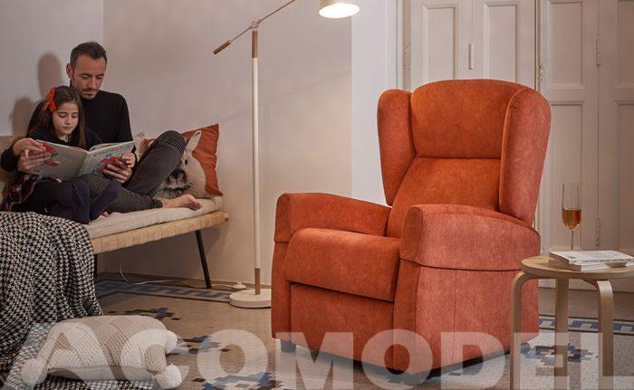 Fores es un sillón de Acomodel