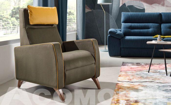 Zara est un fauteuil d'Acomodel | Acomodel Tapizados